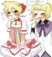 Len will do a great meduka by PokemonSatomi