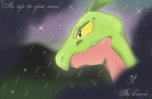 Grovyle - last words by StoneFacez