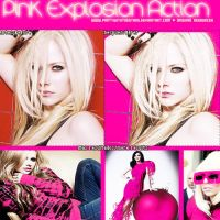 Pink Explosion Action by PartyWithTheStars