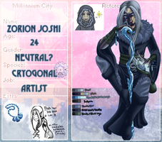 M-C :: Zorion the Cryogonal by Hades-Mind