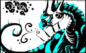 Demon Background by Saphizzle
