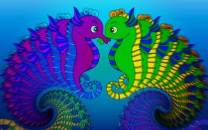 Seahorse dreams by janotteiseencooltube