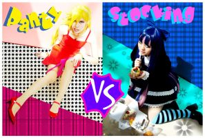 Panty VS Stocking by tamarpg