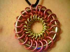 Dream catcher pendant by lunabellvarga