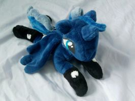 Bed Time Luna Shot 2 by DappleHeartPlush