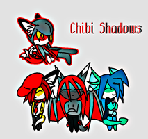 Chibi Shadows by ShadoweyTemptation