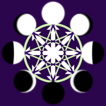 Chaos Moon Octagram by Aquatic-Candle