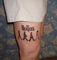 The Beatles Tattoo by bja999