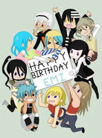 Happy Birthday Emi-chan!! by alykagamine