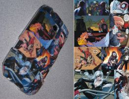 Spider-Man themed phone cover by ZombieObed