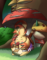 The Cuddliest Nopon by Inika-Xeathis
