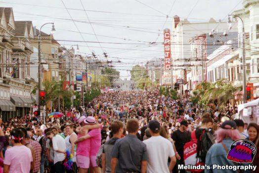 The People Of Castro At Pride 2015 by Minda1
