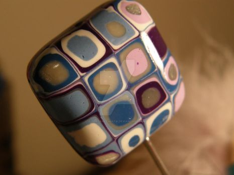 Polymer Clay Bead by thecraftinista