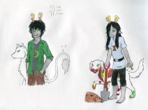 Fantrolls!: Theron Cypris and Helise Garmer