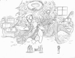 Merry Christmas Marvel by JoeyVazquez