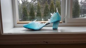 Frozen Ice Slipper by Tarah-Rex