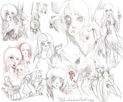 Sketch Dump 5 by 3lda