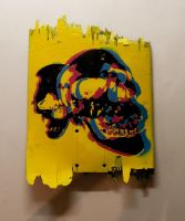 cmyk skulls, totally shitty by truemarmalade