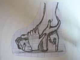 Hand shoe... by M-A-D-Z