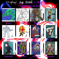 Summary of Art 2012 by I3-byUsagi