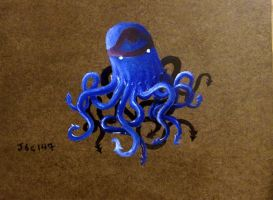 Jelly Squid by whalewithlegs