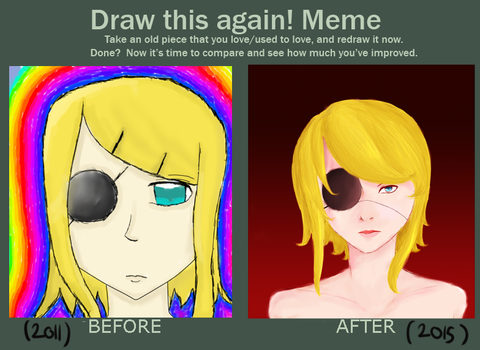 Draw It Again Meme by Ultimatemariolover