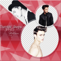 PNG Pack (7) Tumblr Boys by PS-ID