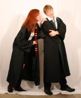Draco and Ginny 5 by intergalacticstock