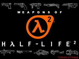Weapons of HL2 by timesplitter88