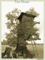 tree house by opinguino