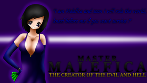 Wallpaper Master Malefica by Atilea