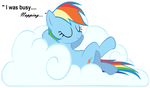 rainbowdash's day off by chaoskitty659