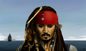 Jack Sparrow by WeaponX-Art