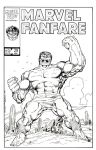 Marvel Fanfare 29 John Byrne Recreation by StevenWilcox