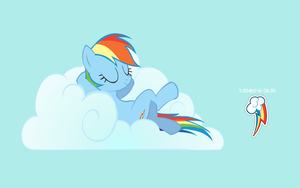 Rainbow Dash Wallpaper by adamlikesponies