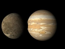 Jupiter and Ganymede Objects by Overtkill-UD