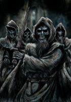 Fury of the Blind Dead by Loneanimator