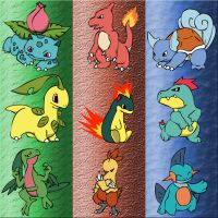 Starter Pokemon L2