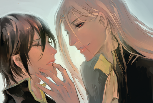 Noblesse Open your mouth and close your eyes by Sawitry