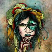 Venomous Beauty by MonaParvin