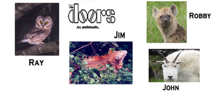 If The Doors Were Animals by Squeezemylemon98