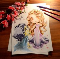 Hades and Persephone by Lighane