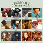2011 Summary of Art by gem2niki
