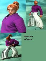 Soul Calibur V: Kenshin by SharinganAce