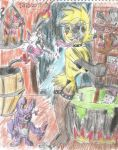 Toy witch Chica cooking a delicious soup (bikini) by CAPTAIN-CHETO