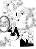 CCS Doujinshi:First Kiss Page5 by barbypornea