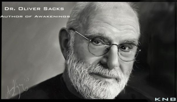 Dr Oliver Sacks -- Realism CG by nationofdarkness