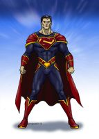 Superman Redesign 3 by GinoDrone