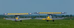 Hawker Nimrod Pair Duxford by davepphotographer