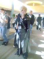 Cloud Strife by HikaruHrist